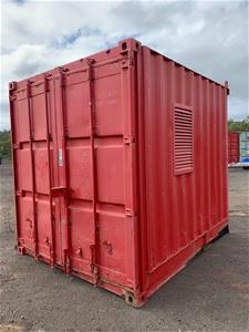 10ft Hazardous Materials Storage Contain