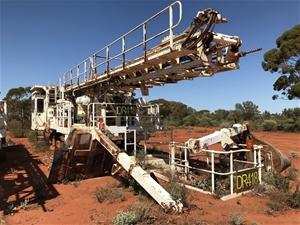 Drilltech D45KS Tracked Drill Rig (DR418