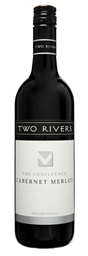 Two Rivers Confluence Cabernet Merlot 2018 (6x 750mL).