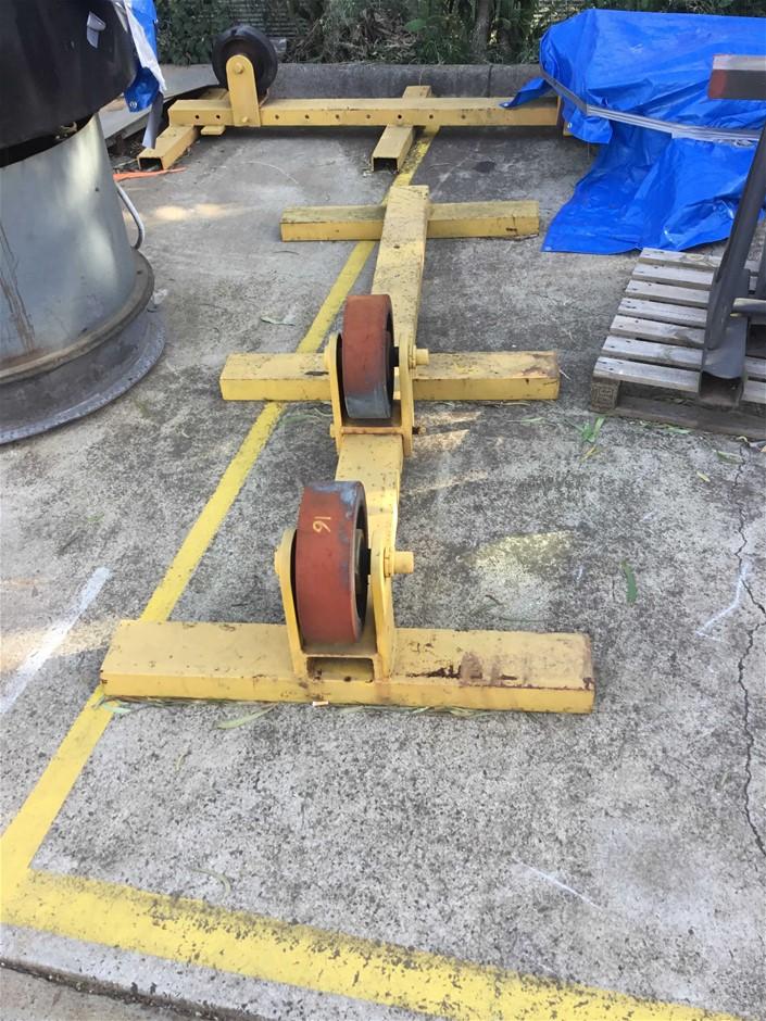 Hydraulic Pipe & Tank Rotators