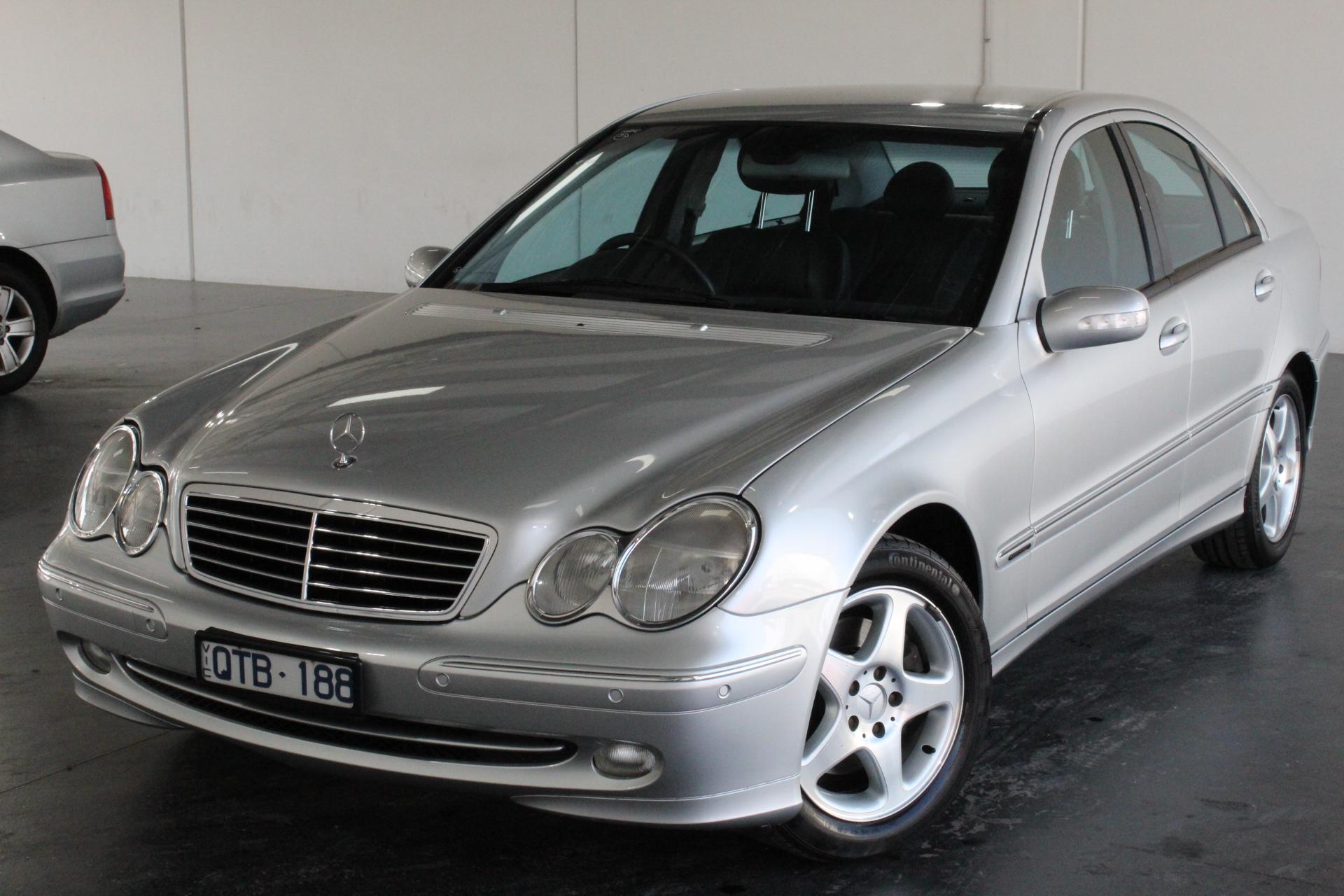 2001 Mercedes Benz C320 Avantgarde W203 Automatic Sedan