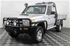 2011 Toyota Landcruiser GXL (4x4) VDJ79R Turbo Diesel Cab Chassis