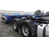 2006 Barker Heavy Duty Triaxle Skeletal Trailer