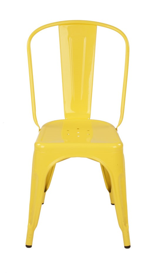 Replica Tolix Chair Yellow