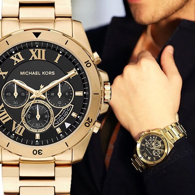 New Michael Kors Couture Ny 'Brecken' Mens Chronograph Watch