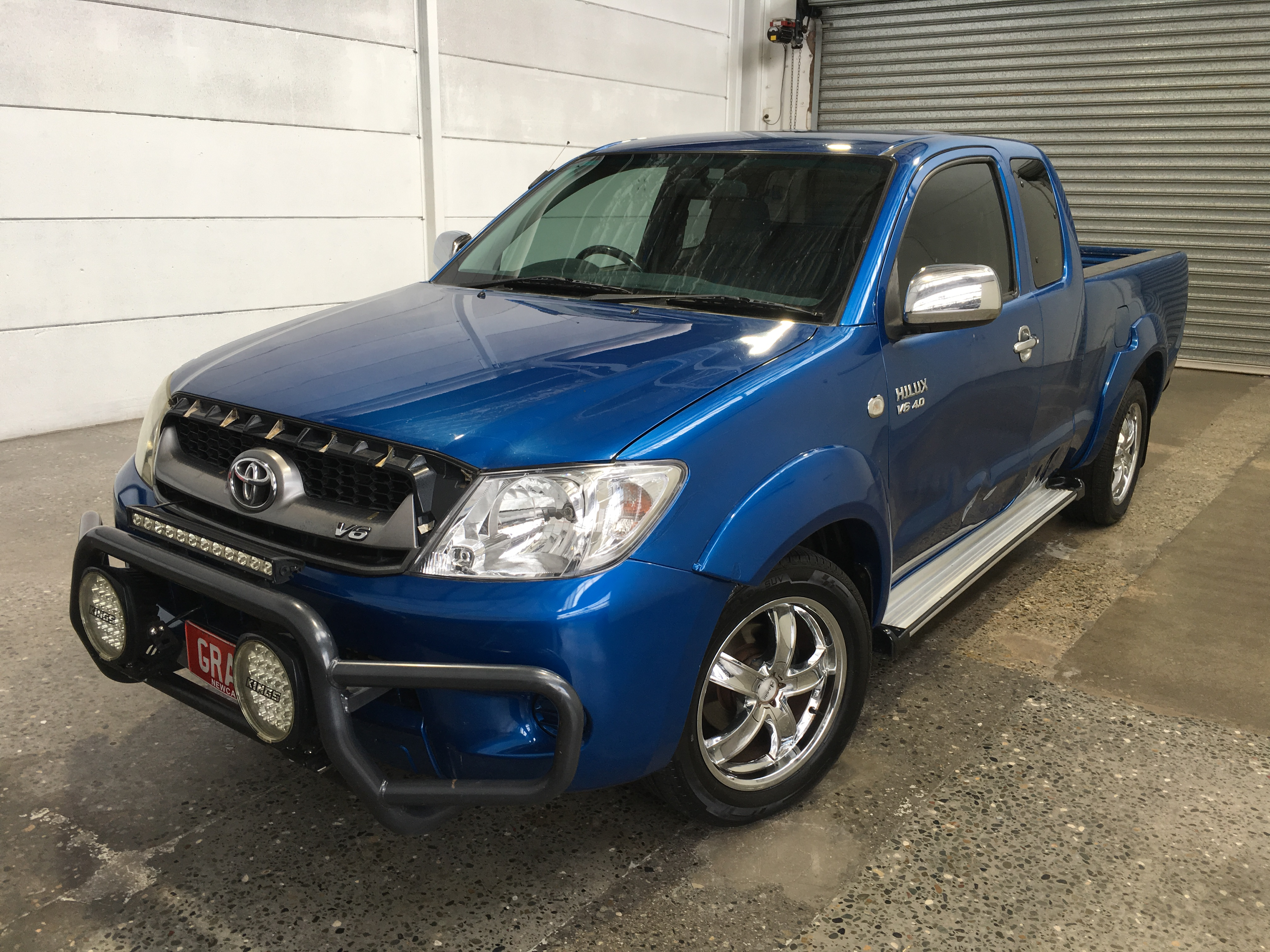 2008 Toyota Hilux SR5 GGN15R Automatic Ute