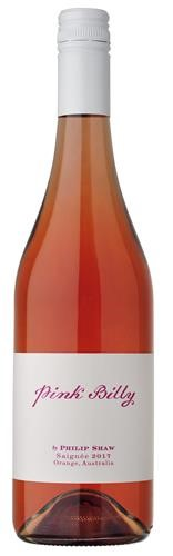 Philip Shaw Pink Billy Saignée 2017 (6x 750ml), Orange NSW. Screwcap