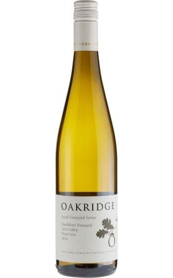 Oakridge LVS Pinot Gris 2018 (6x 750ml), Yarra Valley, VIC. Screwcap