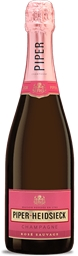 Piper Heidsieck Rosé Sauvage NV (6x 750ml), Champagne. France. Cork