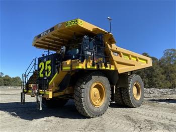 2019 Caterpillar 777G Rigid Dump Truck (RDT25)