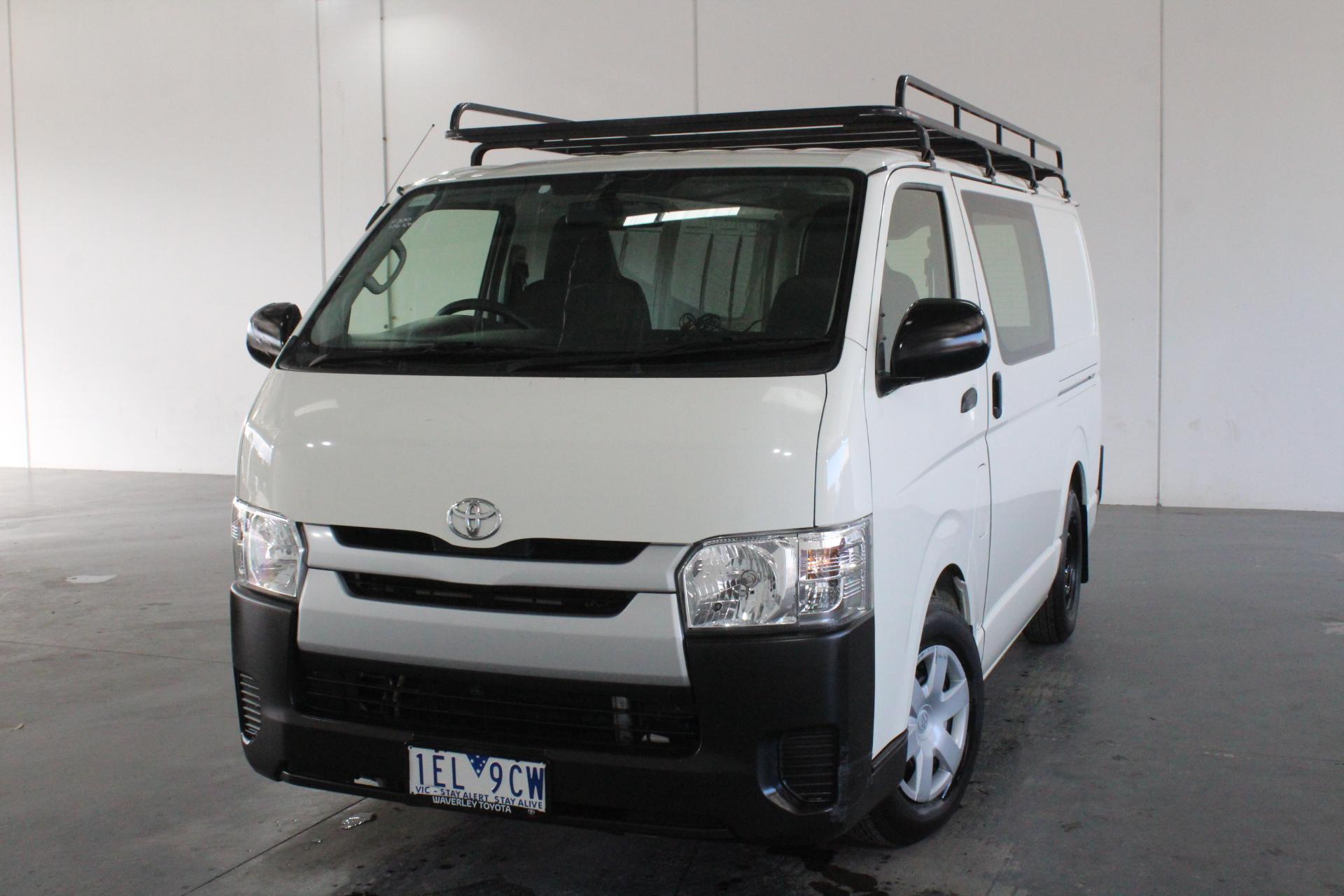 2015 Toyota Hiace LWB KDH201R Turbo Diesel Manual Van