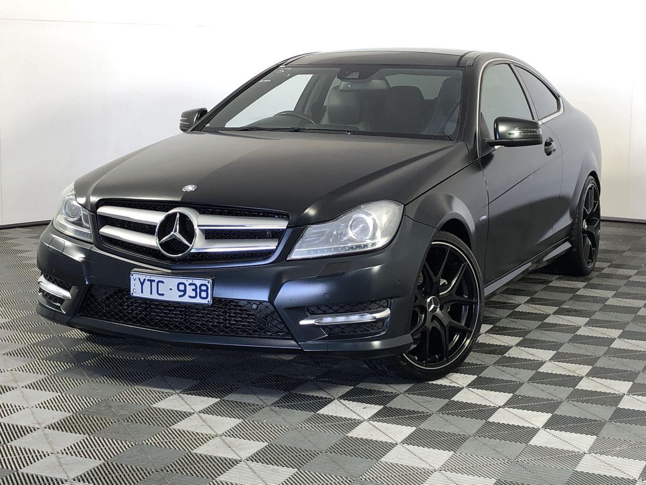 2012 Mercedes Benz C250 Automatic Coupe