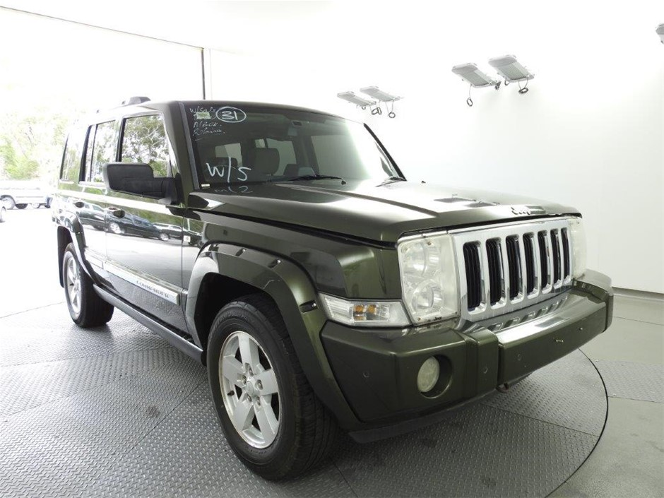 2006 Jeep Commander Limited 4WD Automatic Wagon