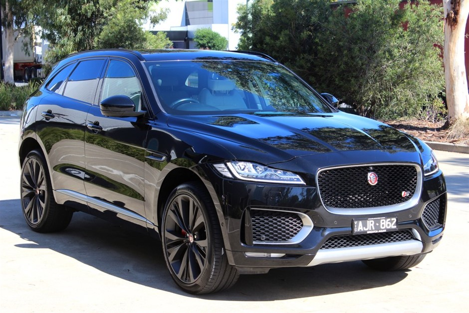 2016 Jaguar F-PACE 35t First Edition AWD MY17 AWD Automatic SUV