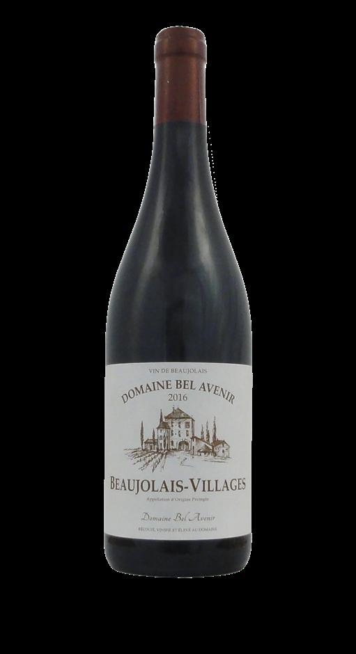 AOC Beaujolais Village Rouge Chateau de Bel Avenir 2016 (6 x 750mL) France