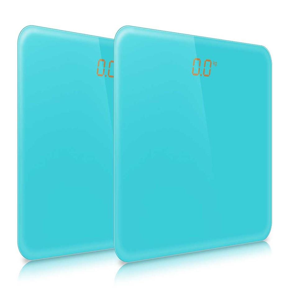 SOGA 2x 180kg Digital LCD Electronic Scale Blue