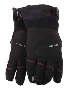 HEAD Women`s Ski Gloves, Size L, Polyest