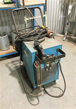 Plasma Cutter, J&R Hill, 3 Phase, trolley-mounted
