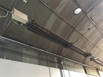 Overhead Twin Tube Gas Heaters