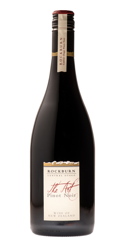 Rockburn ''The Art' Pinot Noir 2016 (6x 750mL), Central Otago, NZ. Screwcap