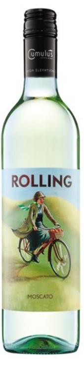 Cumulus Rolling Moscato 2017 (24x 187ml), NSW. Screwcap