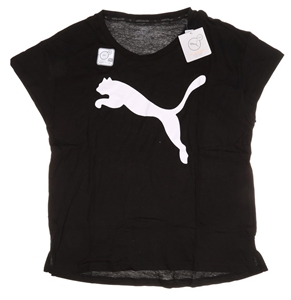 Women`s PUMA Logo Active T-Shirt, Size M