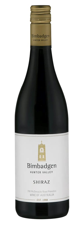 Bimbadgen Hunter Valley Shiraz 2017 (12x 750mL). NSW