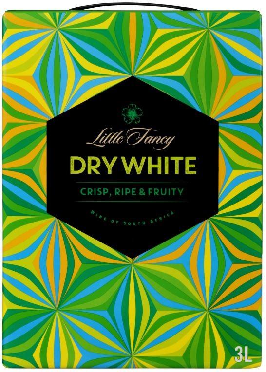 Little Fancy Dry White Cask (4 x 3L) South Africa