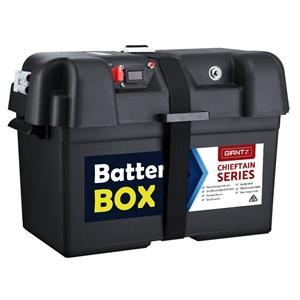 GIANTZ Battery Box 12V Camping Portable