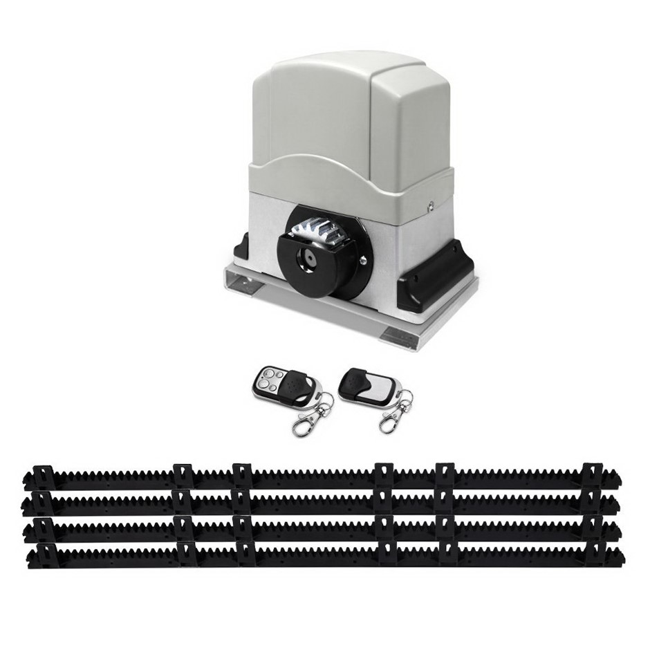 Giantz Sliding Gate Opener 1200KG Pro Auto Remote Kit Electric Fence