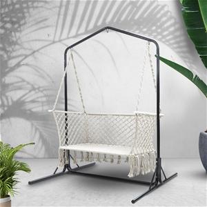 Gardeon Double Swing Hammock Chair with