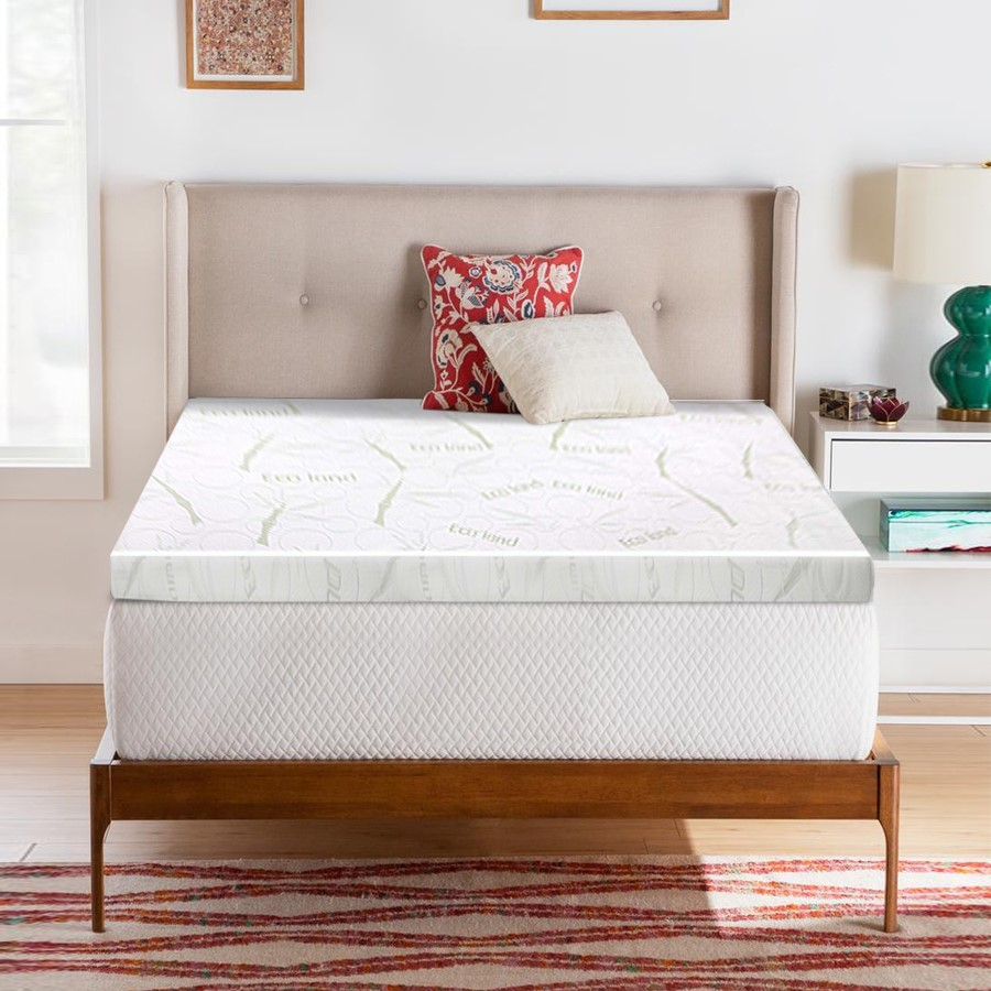 Giselle Bedding Memory Foam Mattress Topper Queen Bed Cool Gel