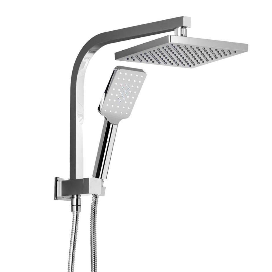 Cefito WELS Square 8inch Rain Shower Head Handheld Spray Bracket
