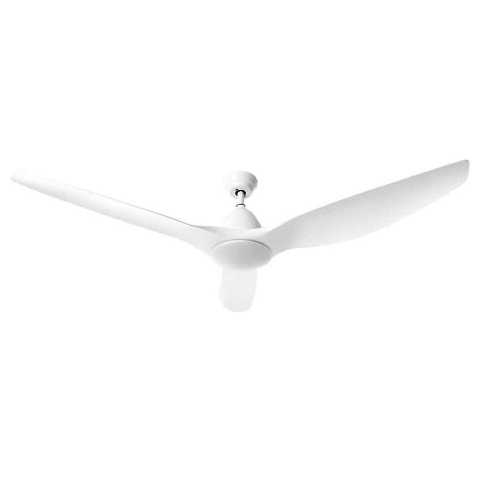 64'' DC Motor Ceiling Fan w/LED Light w/Remote 8H Timer