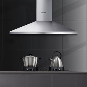 Devanti Range Hood 90cm 900mm Kitchen Ca