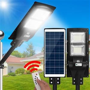 LED Solar Street Flood Light Motion Sens