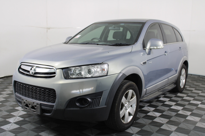 2012 Holden Captiva 7 SX CG II Automatic 7 Seats Wagon 109,628km