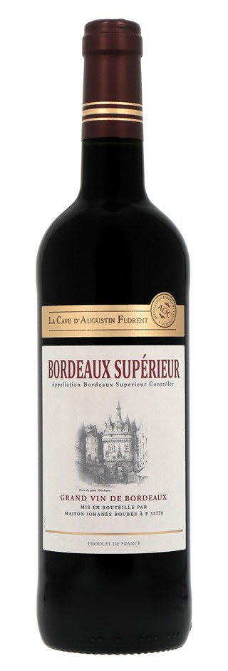 Bordeaux Superieur Rouge La cave D'Augustin Florent 2017 (6 x 750mL) Fr