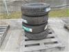Set of 4 x 6 Stud Toyota Wheel Rims with NEW tyres LT195R15C