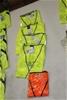 5x Hi-Vis Vests - Assorted Colours - Size 5XL