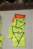 5x Hi-Vis Vests - Assorted Colours - Size M