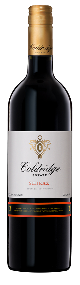 Coldridge Estate Shiraz 2015 (12 x 750mL) SEA