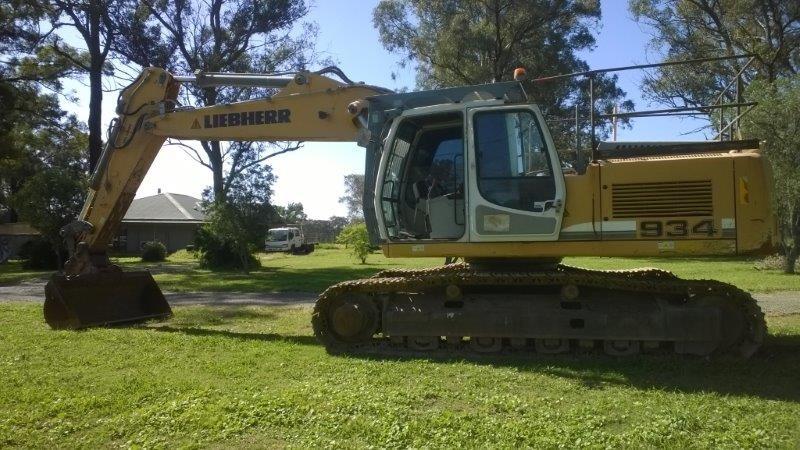 Leibheer R934C Hydraulic Excavator