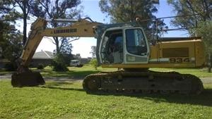 Hydraulic Excavator, Leibheer R934C