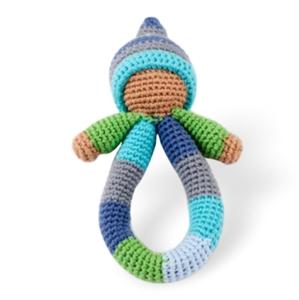 5 x Pixie Ring Rattles
