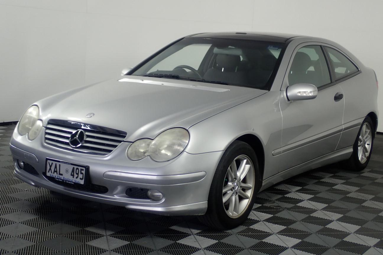 2003 Mercedes Benz C200 Kompressor CL203 Automatic Coupe