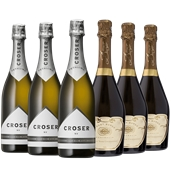 Grant Burge Pinot Noir Chardonnay Brut & Croser NV (6x 750mL).