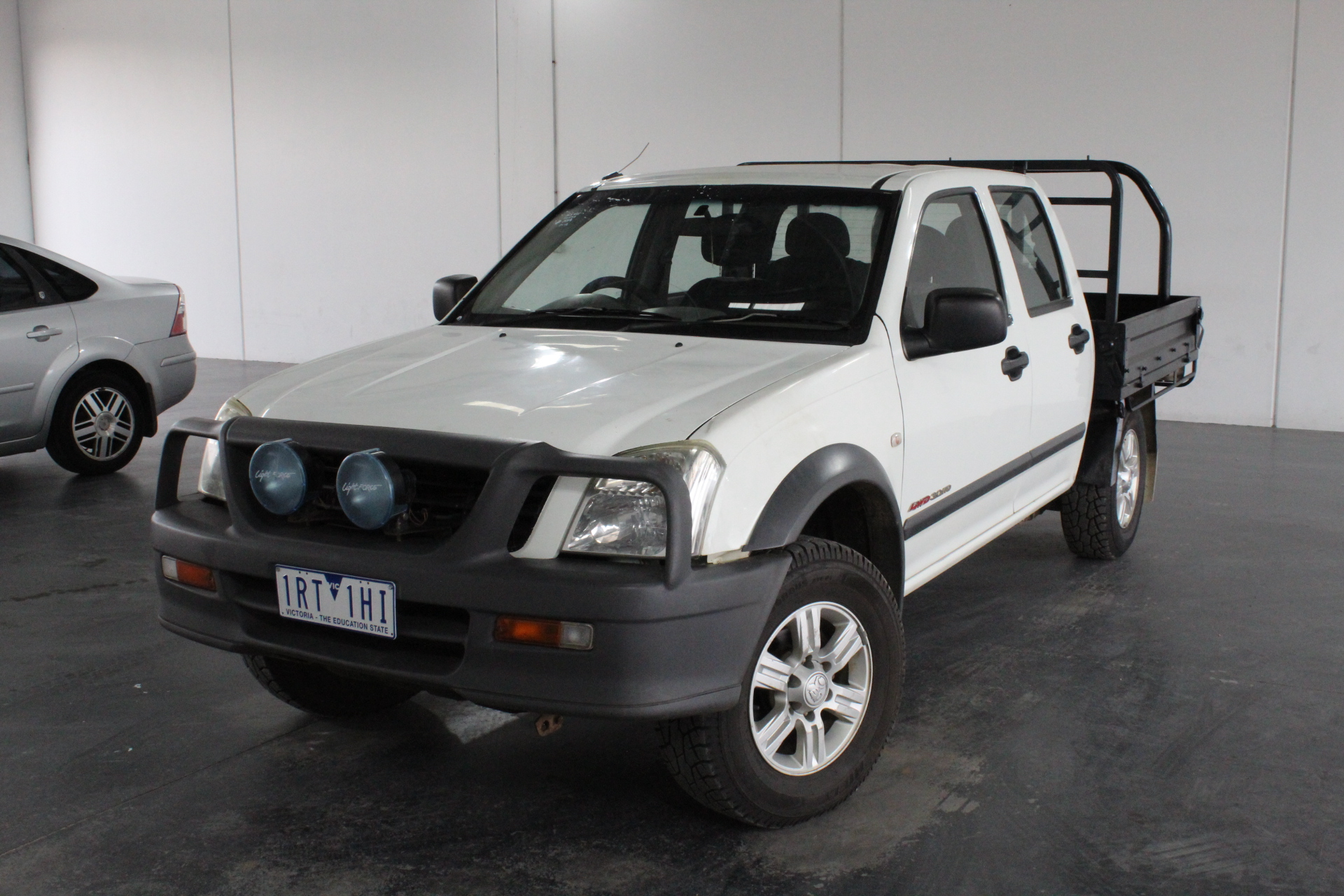 2006 Holden Rodeo LX (4x4) RA Turbo Diesel Manual Crew Cab Chassis