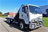 2010 Isuzu FVZ1400 6 x 4 Tilt Tray/Crane Truck Automatic 140,846km's