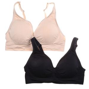 2 x AMBRA Women`s Seamless Bras, Size 14